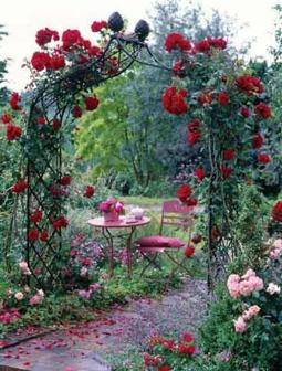 Opora pro popínavé růže